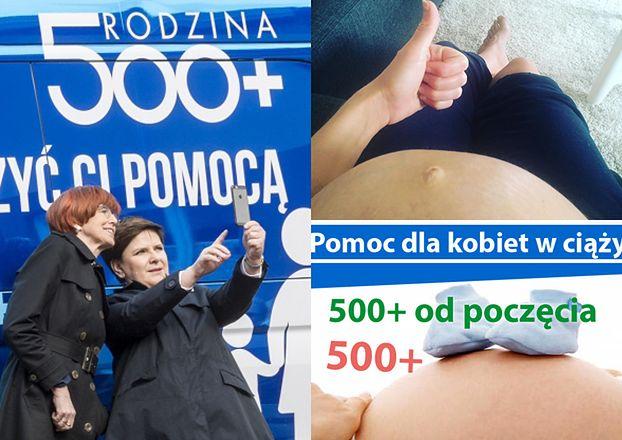 Będzie 500+ dla kobiet w ciąży?