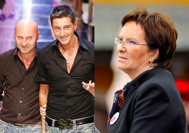"""Kopacz krytykuje Dolce&Gabbana: """"JESTEM OBURZONA tą wypowiedzią!"""""""