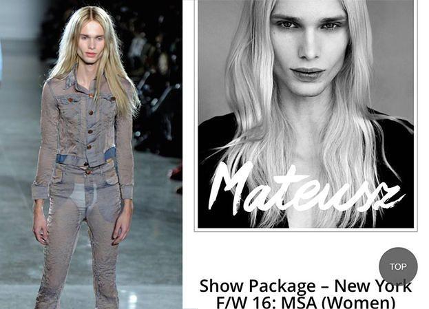 "Mateusz Maga trafił do amerykańskiego ""Vogue'a""! (FOTO)"