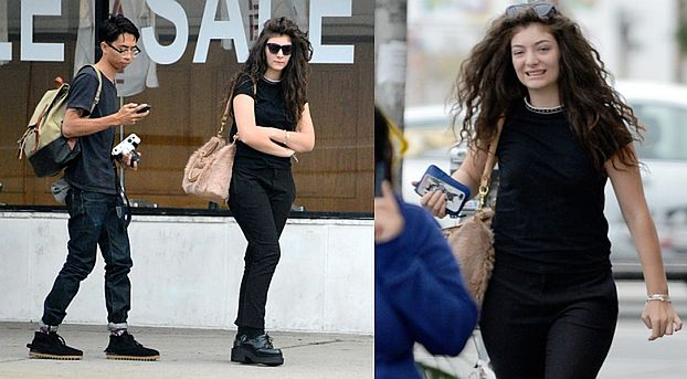 Lorde z chłopakiem w Los Angeles! (ZDJĘCIA)