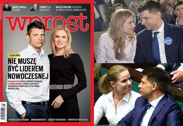 """Ryszard Petru potwierdza związek ze Schmidt: """"Wyborców poruszyła nasza historia"""""""