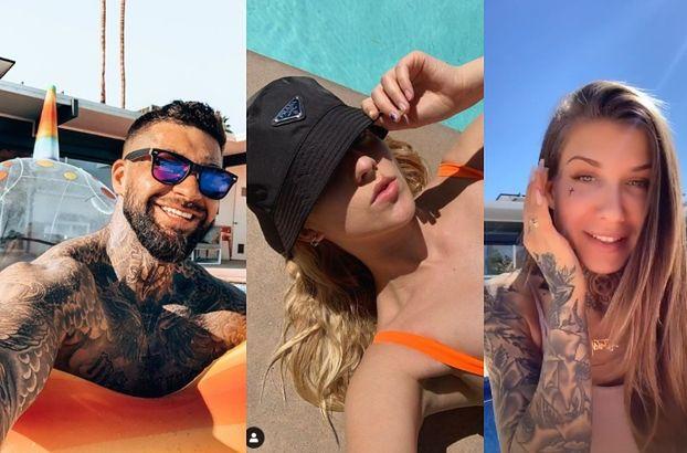 Coachella 2019: Jessica Mercedes w za małym stroju kąpielowym, naturalna Deynn i opalony Majewski (FOTO)