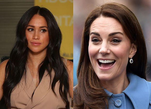 """Księżna Kate chce udobruchać Meghan Markle? """"Próbuje załatwić z nią sprawy na osobności"""""""