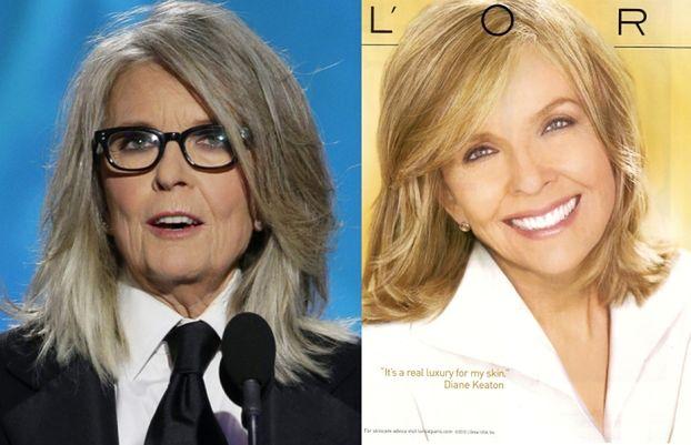 WYRETUSZOWANA, 68-letnia Diane Keaton!