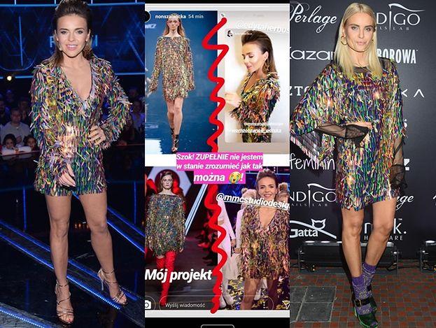 Projektantka, która oskarżyła MMC o plagiat... wycofała zarzuty! To jej sukienka jest kopią?