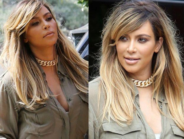 Kim Kardashian BLONDYNKĄ! (FOTO)
