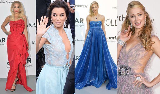 Longoria, Paris Hilton, Rita Ora i Anja na imprezie w Cannes! (ZDJĘCIA)