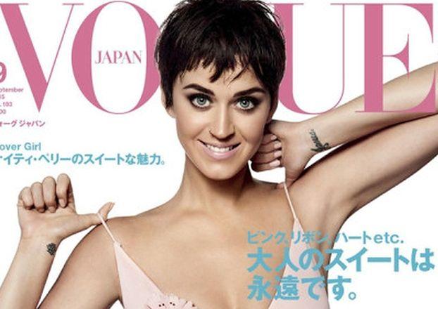 """Katy Perry w krótkich włosach w japońskim """"Vogue'u""""!"""