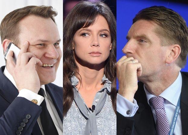 """Poseł PiS wyzywa dziennikarza: """"WON! Zdzwonić to się może Lis z Kingą Rusin"""""""