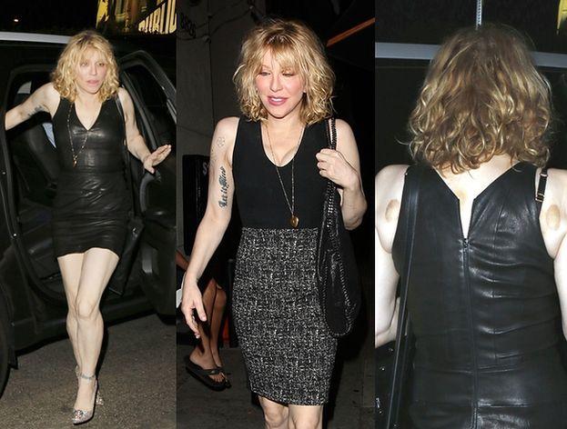 """Courtney Love pokazała blizny po zabiegu """"upiększającym""""... (ZDJĘCIA)"""