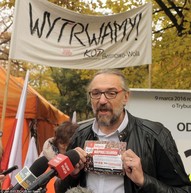 """Działacz KOD: """"Kijowski twierdził, że nie ma z czego żyć, a DOSTAŁ 10 PROCENT ŚRODKÓW zebranych przez nas w całym kraju!"""""""