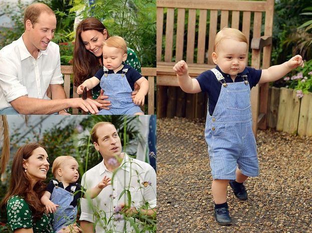 Oficjalne zdjęcia księcia Jerzego na pierwsze urodziny! (FOTO)