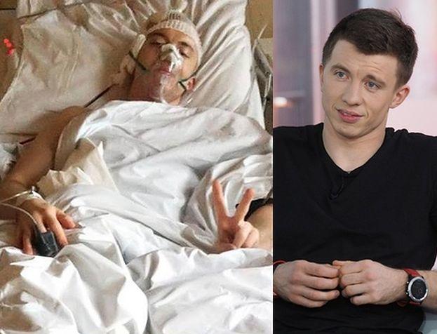 """Andersz pokazał zdjęcie po wypadku: """"Nie marnujcie życia!"""""""