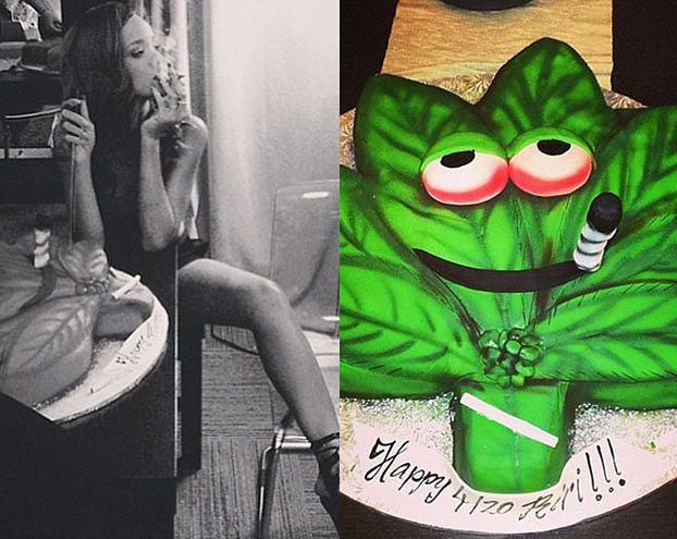 Rihanna świętuje DZIEŃ MARIHUANY! (FOTO)