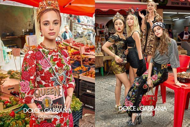 """Arystokratki i """"influencerki"""" reklamują Dolce&Gabbana"""