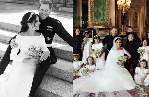 Pałac Kensington pokazał oficjalne zdjęcia ze ślubu Meghan i Harry'ego! (FOTO)