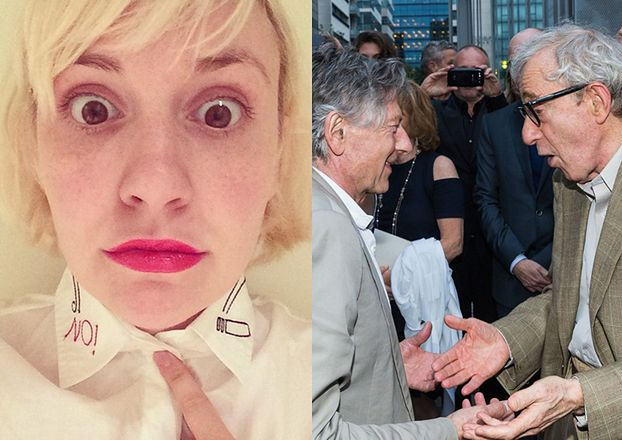"""Lena Dunham szczerze o Woodym Allenie: """"Jest ZBOCZEŃCEM!"""""""