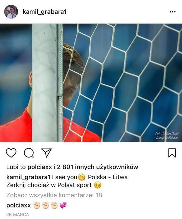 Kamil Grabara i Pola Lis już się rozstali! (TYLKO U NAS)