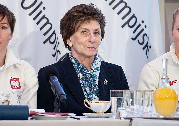Irena Szewińska walczy z rakiem