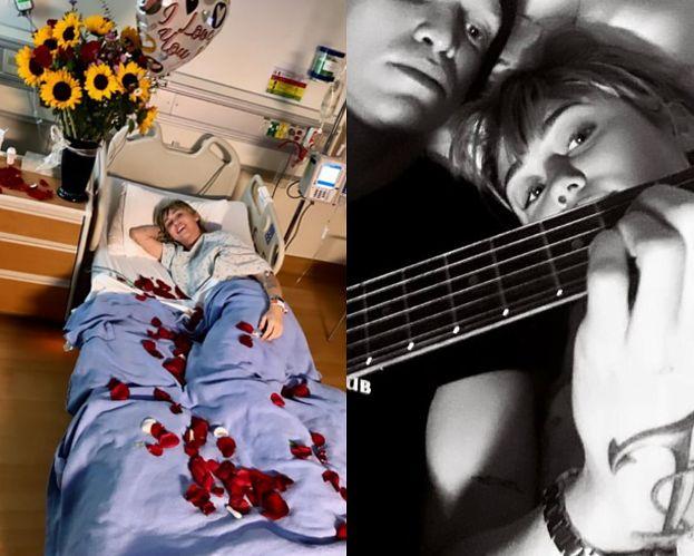 Miley Cyrus wylądowała w szpitalu! Nowy chłopak nie odstępuje jej na krok