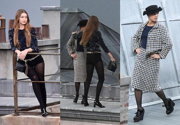Gigi Hadid WYPROSIŁA intruzkę, która wtargnęła na wybieg w trakcie pokazu Chanel (WIDEO)