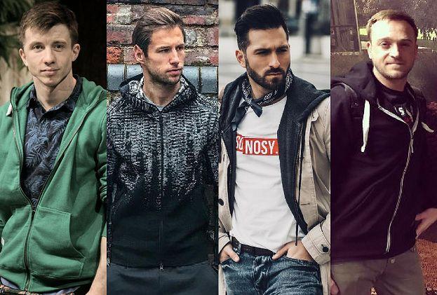 Z czym celebryci noszą rozpinane bluzy?