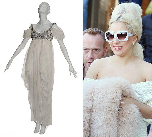 Gaga kupiła suknię za 85 tysięcy funtów!