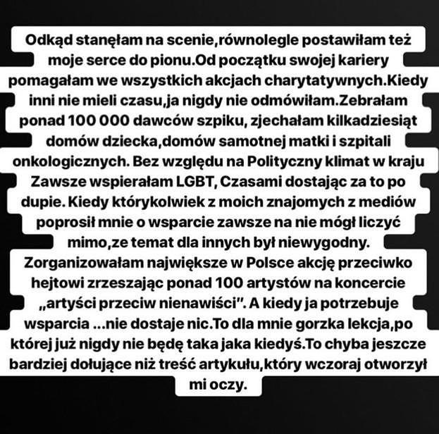 Rusza proces Emila przeciwko Dodzie! Piosenkarce grozi do 5 lat więzienia