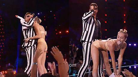 WYUZDANA Miley Cyrus na VMA!