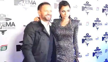 Siwiec pozuje z mężem na imprezie MTV!