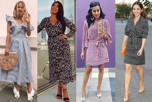 Jakie sukienki retro noszą celebrytki?