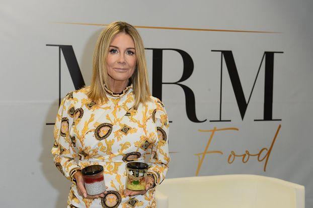 Małgorzata Rozenek-Majdan sprzedaje autorski catering na targach w Nadarzynie (ZDJĘCIA)