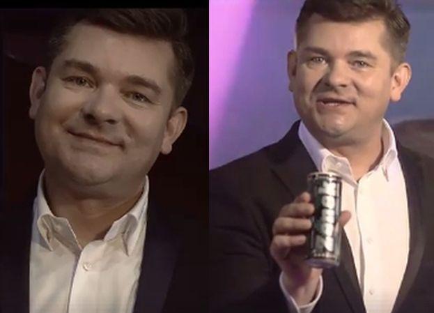 """Tak wygląda oficjalna reklama napoju Zenka Martyniuka! """"Zenek Energy Drink gorąco polecam"""""""