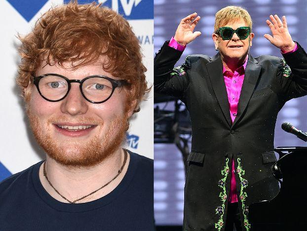 """Elton John NIE ZNOSI muzyki Eda Sheerana: """"Ile można tego słuchać?!"""""""