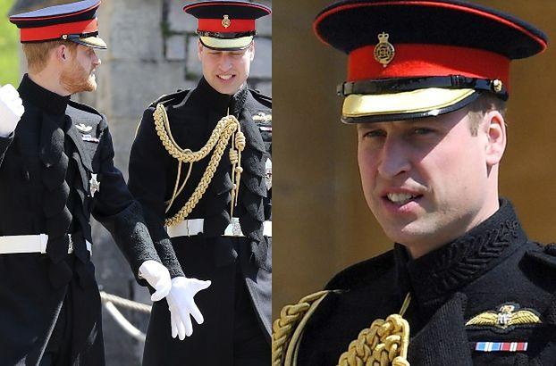 """Dramat księcia Williama na ślubie brata: """"Moje spodnie są za ciasne!"""""""