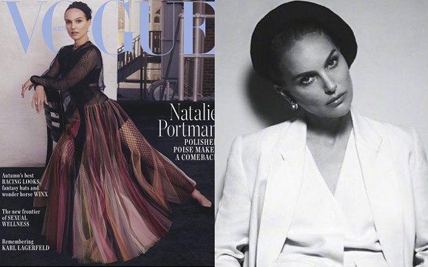 """Natalie Portman na nastrojowych portretach dla australijskiego """"Vogue'a"""""""