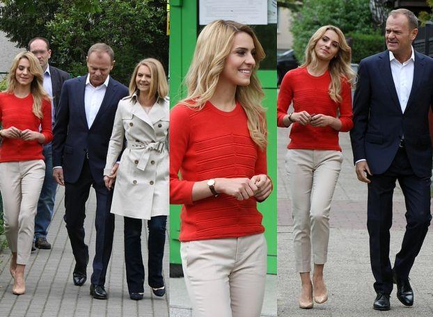 Rodzina Tusków głosuje w wyborach (ZDJĘCIA)