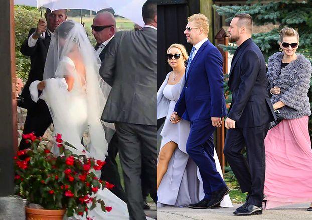 Marta Żmuda Trzebiatowska z ochroniarzami na ślubie! (ZDJĘCIA)