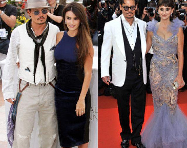 """Penelope Cruz i Johnny Depp promują """"Piratów z Karaibów"""" (ZDJĘCIA)"""