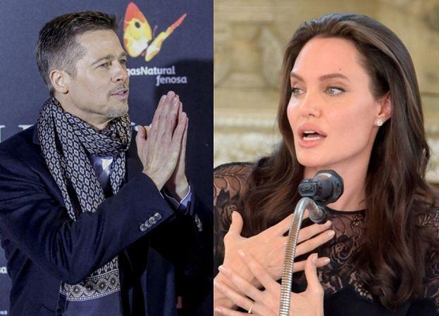 """Brad i Angelina zaczęli już ze sobą rozmawiać? """"Pitt potajemnie poleciał do Kambodży, żeby zobaczyć się z dziećmi"""""""