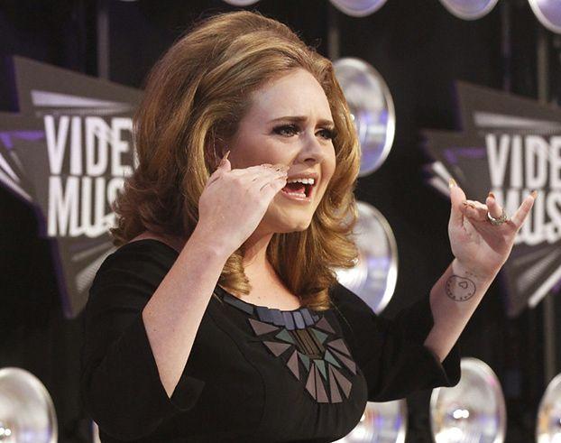 Płyta Adele 4. najlepiej sprzedającą się płytą w historii!