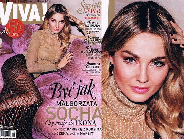 """Nowa okładka """"Vivy"""": """"Być jak Małgorzata Socha..."""""""