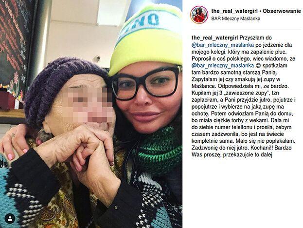 Maja Plich rywalizuje na dobroczynność z Wodzianką? Pochwaliły się pomaganiem prawie w tym samym czasie... (FOTO)