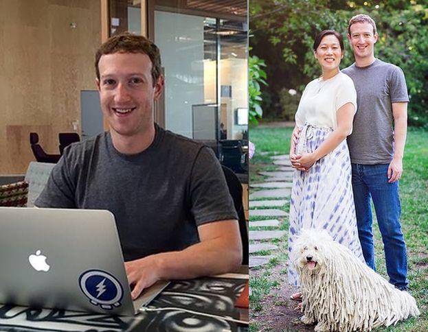 """Mark Zuckerberg zostanie ojcem! """"Priscilla PORONIŁA 3 RAZY"""""""