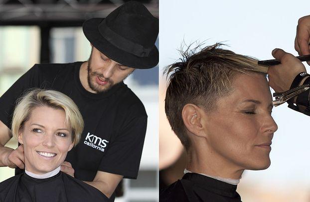 Felicjańska obcięła włosy dla chorych na raka!