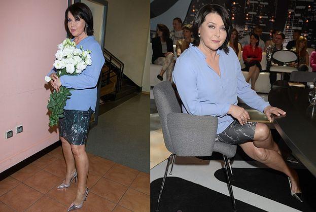 68-letnia (!) Elżbieta Jaworowicz pokazuje nogi (ZDJĘCIA)
