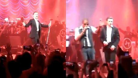 """Timberlake śpiewa """"Suit & Tie"""" NA ŻYWO!"""