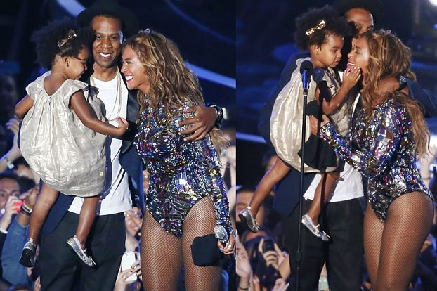 Beyonce na scenie z Jayem i Blue Ivy! (ZDJĘCIA)
