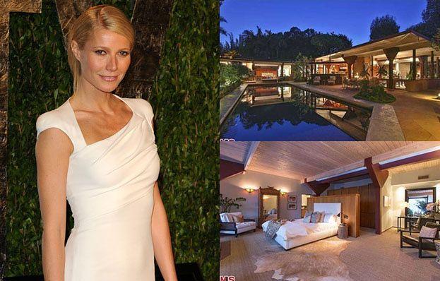 Gwyneth Paltrow kupiła dom za 14 MILIONÓW! (FOTO)