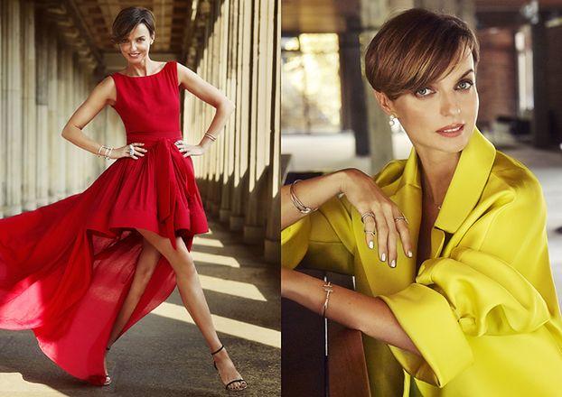 "Jurorka z ""Top Model"" reklamuje biżuterię"